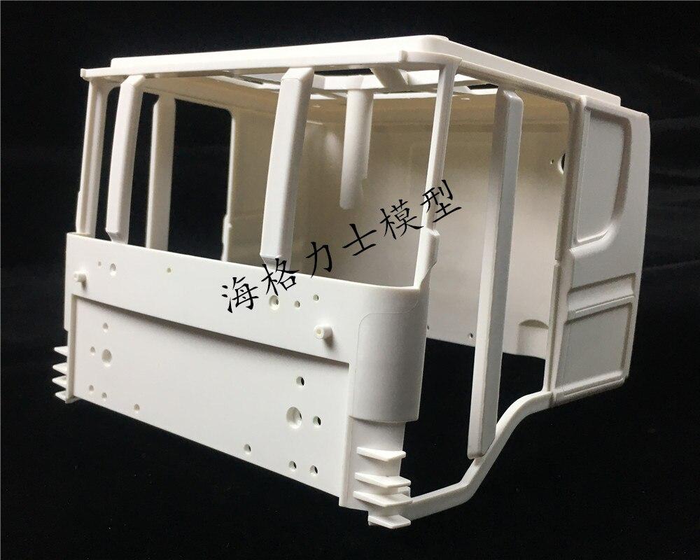 1/14 TAMIYA Scania R470 R620 R730 Drag Head Truck Cab Cockpit Body Shell Simulation For TAMIYA RC Tractor Truck