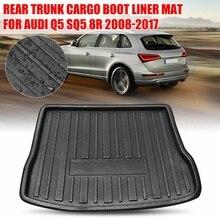 Auto Hinten Trunk Liner Boot Transport Mat Tray Boot Boden Teppich für AUDI Q5 SQ5 8R 2008 2009 2010 2011 2012 2013-2017 auto Zubehör