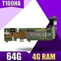 T100HA Motherboard 4G RAM 64G SSD Für ASUS T100H T100HA T100HN T100HAN Laptop motherboard T100HA Motherboard test 100% OK