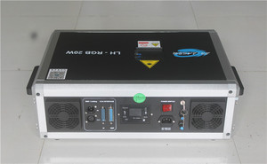 Image 3 - Free Shipping ILDA+SD Card 20W mulit color RGB Disco Laser Light ilda mini stage lighting projector
