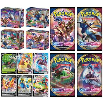 Pokemon Cards 2020 324pcs Pokemon Action Figures Trading Card Game Set Booster Box Sword Shield Vmax New English Edition Tomy Children Toy 1