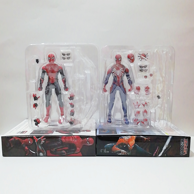 Spiderman Crazy Toys PS4 Spiderman Far From Home Figure Upgrade Suit Game Edition Spider Man Toy PVC Action Figure Toy Doll
