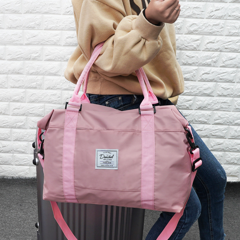 Manufacturers Direct Wholesale Online Celebrity Travel Bag Women's Bags Korean-style Large-Volume Go Out Cute Travel Bag Gym Bag