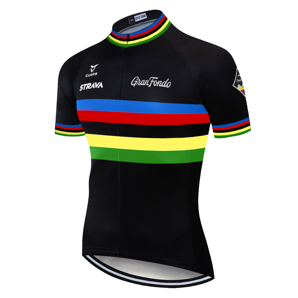 2020 laser cut <font><b>STRAVA</b></font> pro team cycling jersey Mountain <font><b>bike</b></font> <font><b>shirt</b></font> tenue cycliste homme breathable short malliot ciclismo hombre image