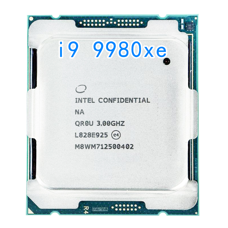 <font><b>Intel</b></font> Core i9 9980XE Extreme Edition Processor 18 Cores up to 4.4GHz Turbo Unlocked LGA2066 <font><b>X299</b></font> Series 165W Processors (999AD1) image