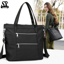 Nylon tote bags for women luxury handbags designer high-capacity travelling shoulder bag