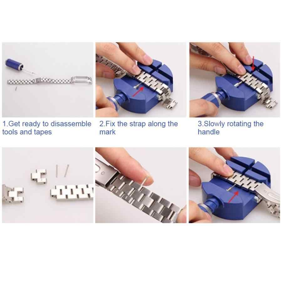 Horloge Band Link Pin Remover Horlogeband Base Holder Set Repareren Accessoires Tool Hoge Kwaliteit Horloge Maken Tool Voor Horlogemaker