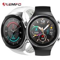 LEMFO reloj inteligente GT2 para hombre y mujer accesorio de pulsera resistente al agua con Bluetooth control del ritmo cardíaco llamadas compatible con Huawei 2021