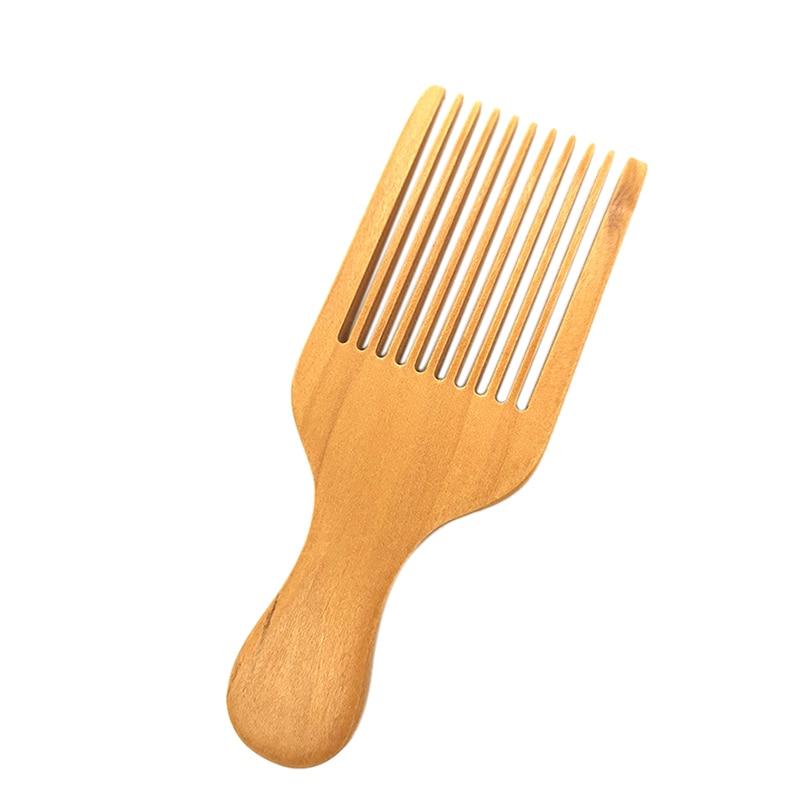 Peine de masaje peine de madera peines de madera Natural no estática peines