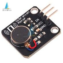 PWM Vibration Motor Switch Toy Sensor Module DC 5V Mobile Phone Vibrator For Arduino UNO MEGA2560 R3 DIY Kit 9000RPM Minimum