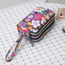 8 стилей мода женщины кошелек сумка кошелек тройной молния клатч сумка женская карта деньги телефон чехол органайзер сумка