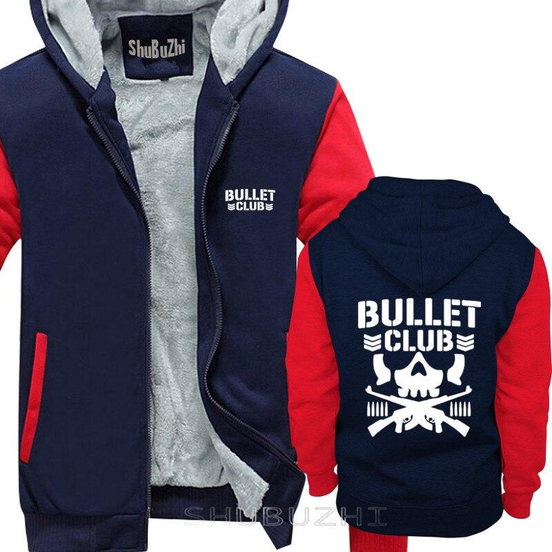 Image 3 - Masculino presente Moda Bala Club New Japan Pro Wrestling sbz5180  jaqueta grossa camisola Ocasional moletom com capuz Moda casaco de  Algodão quenteAgasalhos e Moletons