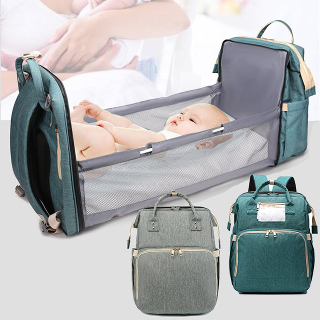 Handbag Multifunction Mummy Maternity Diaper Nappy Bag Baby Nursing Backpack