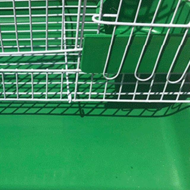Wire Rectangular Bird Cage 2