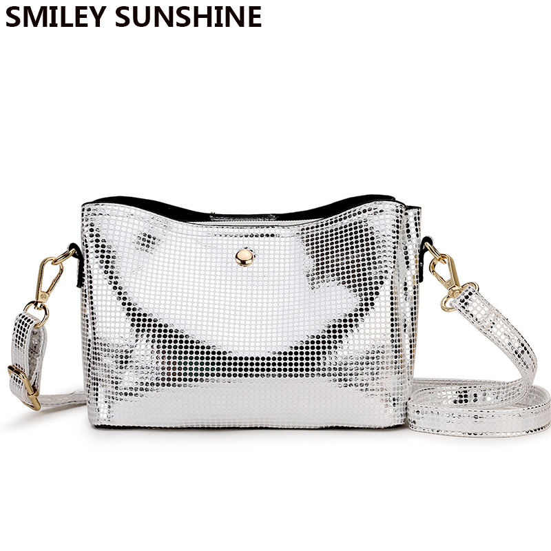 SMILE SUNSHINE Silver Small Crossbody Bag For Women Snake Print Leather Shoulder Bag Female Chain Messenger Bag Ladies Hand Bags