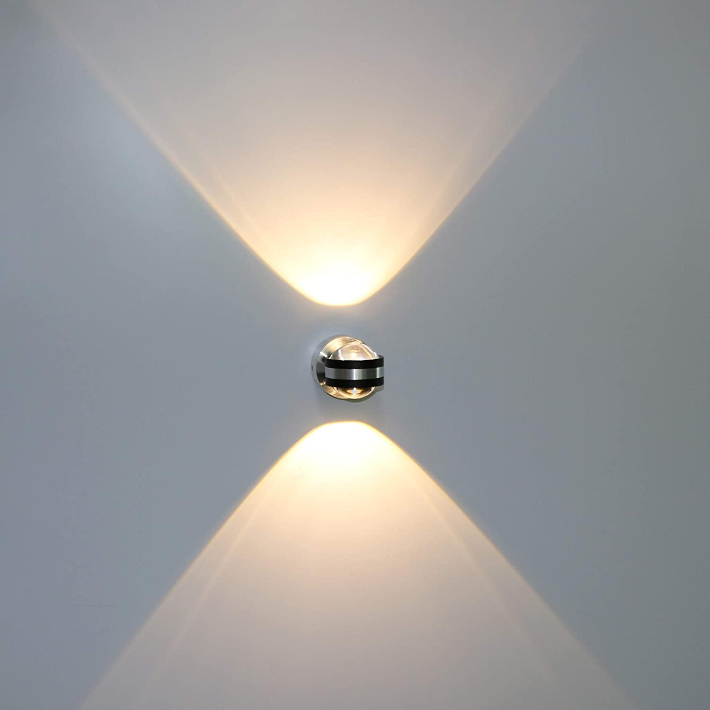 Image of: Modern Led Crystal Wall Lamp Bathroom Corridor Pendant Light Lighting Fixtures