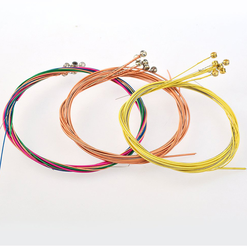 Accessories String-Set Guitar-Tool-Instrument Brass 1M Changing-Kit Folk Rust-Proof