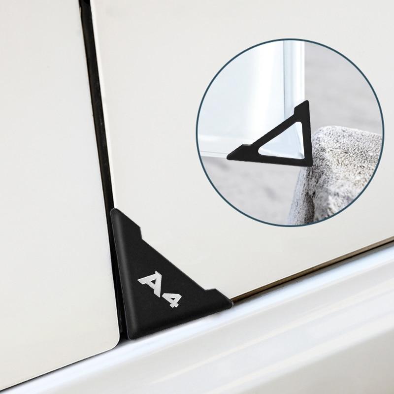 2 шт./компл. силиконовые автомобильные двери с поворотом на 90 градусов угол чехол бампер аварии царапин для Audi A4 A3 A5