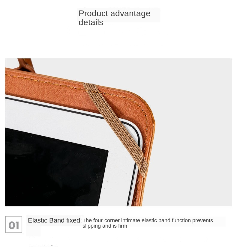 MacBook Leather Stand Case  23