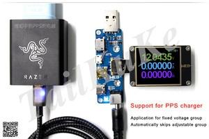 Image 4 - WITRN PDC002 PD Deception สายโปรแกรมอัพเกรด USB เครื่องตรวจจับ PD3.0 Trigger QC4 + Polling