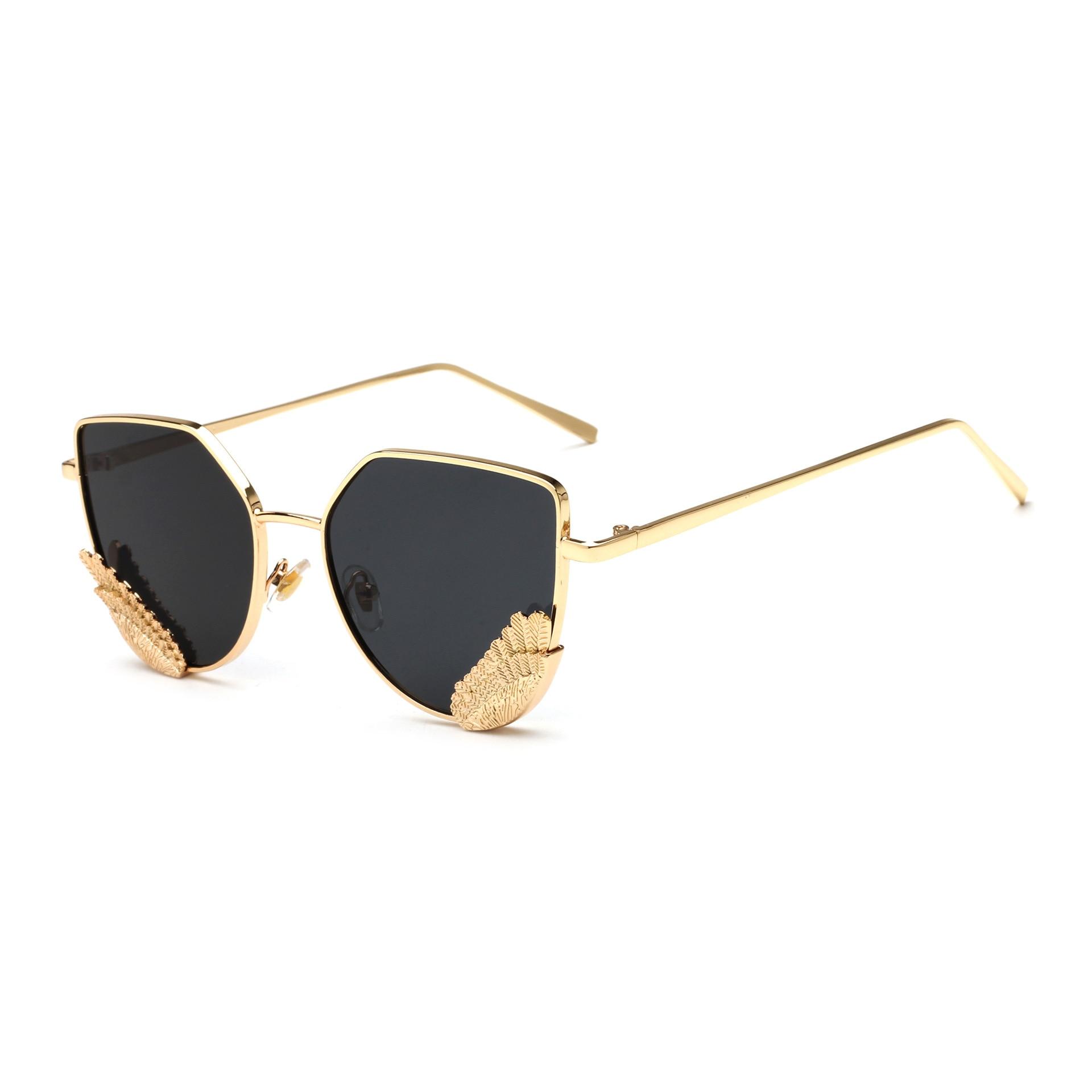 Ololo ou 1806 cool lunettes de soleil lunettes de soleil en gros 2018 nouveau style métal ailes hommes femmes crapaud lunettes