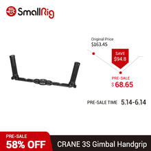 SmallRig CRANE 3S Gimbal Grip Dual Handgrip for ZHIYUN CRANE 3S Handheld Stabilizer  2857 zhiyun crane 2 accessories zw b02 wireless remote control monitor for crane plus crane v2 crane m handheld camera stabilizer