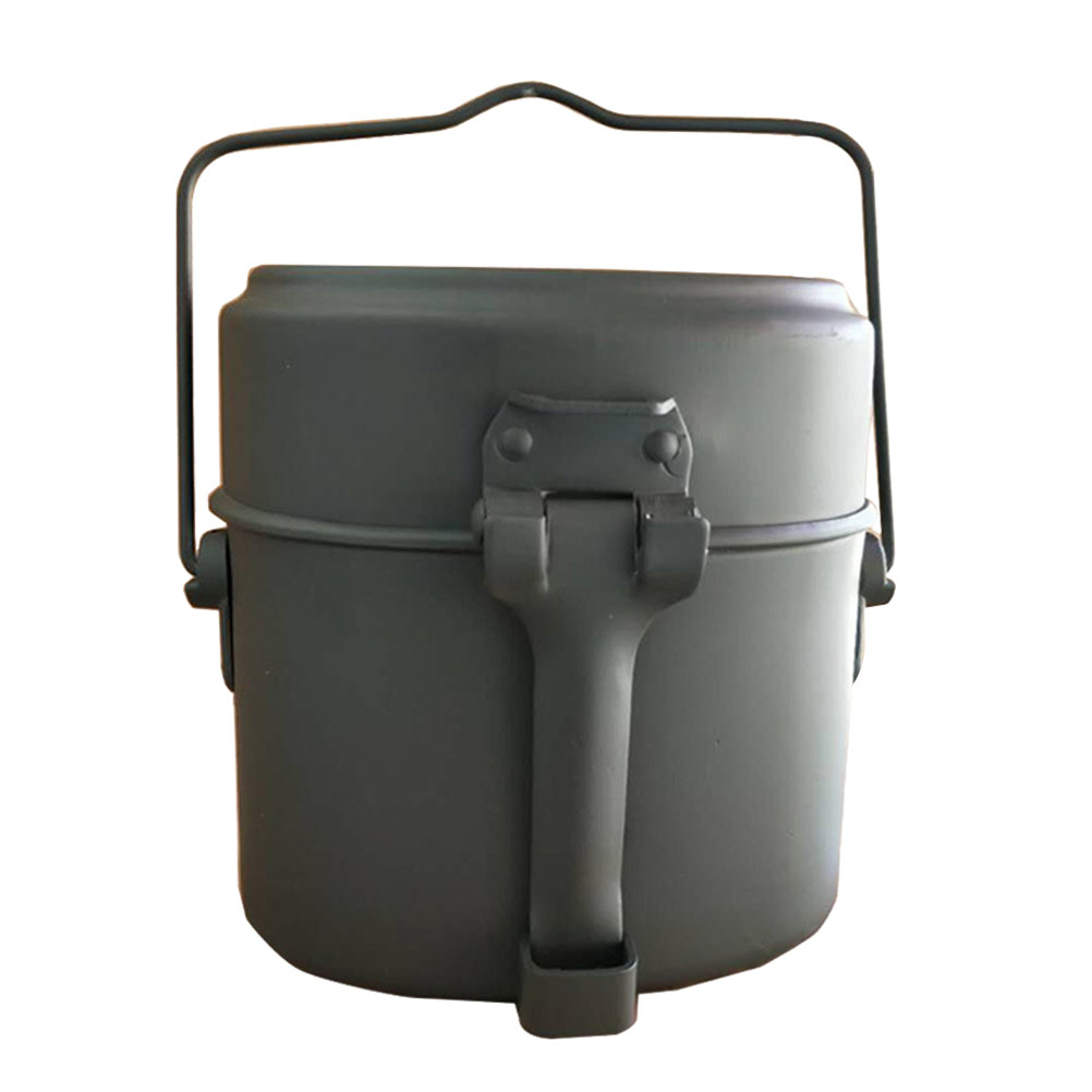 Aluminum Camping Lunch Box Picnic Kit
