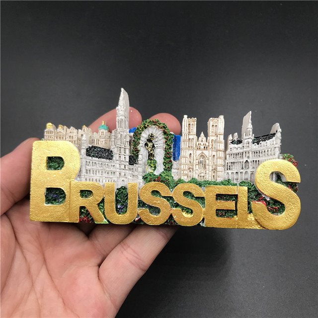 15 European Countries Famous Scenery Fridge Magnet 7-12cm Resinmagnetic Stickers Home Refrigerator Decoration Kitchen Decor 4