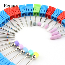 ERUIKA, 24 типа, алмазное сверло для ногтей, фреза для маникюра, роторное сверло, Электрический станок, аксессуары, пилочки для ногтей, щетка