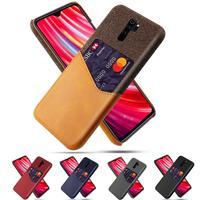 Custodia Business per Xiaomi Redmi Note 8 8Pro 6 7 Pro 5plus 5A 4X 4A S2 7A GO Card Slot Cover per Xiaomi 9 8 Lite CC9 6X 5X A1 A2