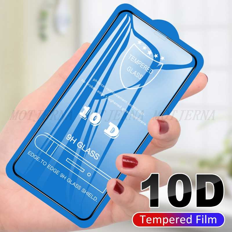 10D Tempered Glass For iPhone 7 6S 6 8 Plus Full Cover Screen Protector Glass For iPhone XS MAX XR X 10 Guard Toughened Glass