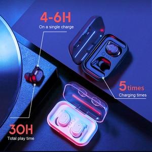 Image 4 - SANLEPUS tws 이어폰 무선 헤드폰 블루투스 이어폰 스포츠 헤드셋 에어 이어폰 (마이크 포함) 샤오미 Android