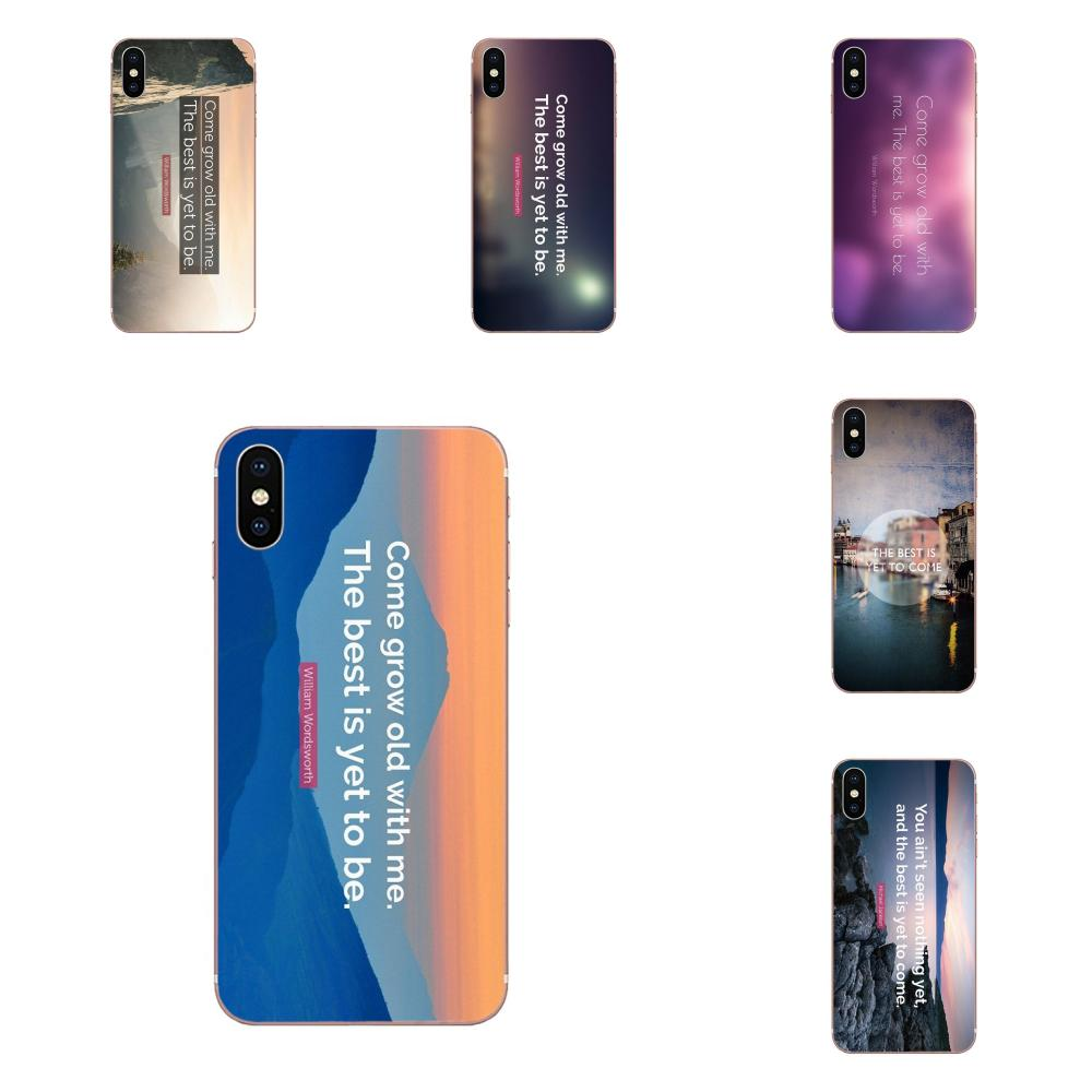 Design High Phone Case For Xiaomi Redmi Note 2 3 3S 4 4A 4X 5 5A 6 6A Pro Plus The Best Has Yet To Come Life Quote image