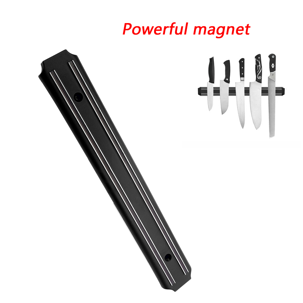 Magnetic Knife Holder High Quality Powerful Wall-Mounted Stainless Steel 304 Block Magnet Knife Holder Rack Stand For Knives A29