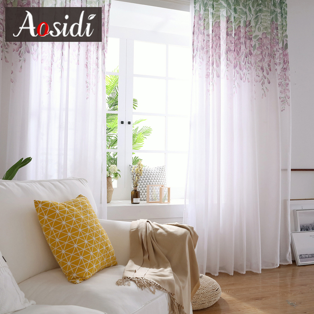 Floor to Ceiling Window Covering Curtain 4