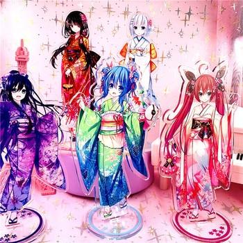 Anime Date a Live Acrylic Stand Model Toys tokisaki kurumi Action Figure toy 15cm gift 1