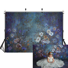 Floral Newborn Baby Portrait Photography Backdrop for Photo Studio Children Birthday Party Selfie Background Fairy Tale Flowers free shipping fairy tale digital kids studio photography background backdrop 5x10ft baby children fabric backdrop a 1187