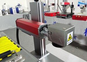 Image 5 - 50W Split Fiber Laser markering Machine Metalen Markering Machine Laser Graveur Machine Naamplaat Laser markering Mach Rvs