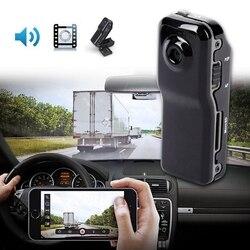Mini câmara de vídeo da câmara de vídeo da câmara de vídeo do dv dvr da câmara de vídeo da webcam, preto