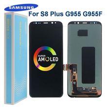 Оригинальный super amoled s8 plus дисплей для samsung galaxy