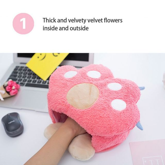 USB Power Heating Mouse Pad Keep Warm In Winter Protect Your Hands From Frostbite 3