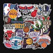 32 teile/satz Basketball team logo standard trolley aufkleber wasserdicht aufkleber graffiti Lakers Krieger bulls