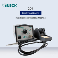 QUICK 204 Lead Free High Frequency Eddy Current Soldering Station Adjustable Electricity Soldering Iron Repair Welding Machine|Electric Soldering Irons| |  -