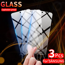 2Pcs Screen Protector Tempered Glass for Samsung Galaxy A51 Note 20 10 S10 Lite S20 FE A32 A72 A52 A71 S21 Plus Protective Glass