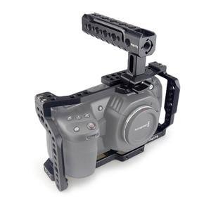 Image 5 - MAGICRIG BMPCC 4K Cage with NATO Handle for Blackmagic Pocket Cinema Camera BMPCC 4K /BMPCC 6K to Mount Microphone Monitor Flash