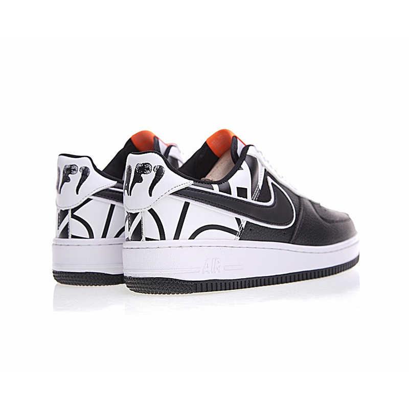 Asli NIKE AIR FORCE 1 Rendah untuk Membantu Skateboard Sepatu Tahan Aus Klasik Non-Slip Olahraga Outdoor sneakers 823511