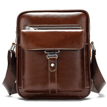 MVA Fahion Men's Bag Genuine Leather Business Briefcase Casual Crossbody Handbags Male Flap Vintage Messenger Bag Phone Pack(China)