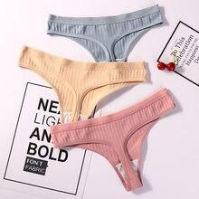 Seksi iç çamaşırı kadın pamuk G-String tanga külot dize iç çamaşırı kadın külot pantolon samimi bayanlar Low-Rise 1 parça