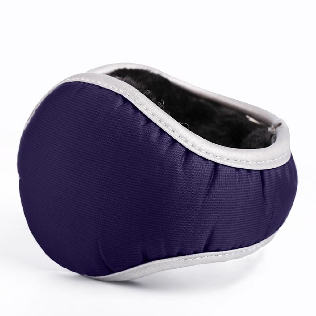 Men And Women Waterproof Ear Protector Ear Plus Velvet Windproof Reflective Foldable Earmuffs 9.30