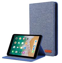 Case for iPad Mini  4 3 2 1 Case Fabric material PU Silicone Soft Back Cover with Stand Auto Sleep Smart Cover for Mini2 Funda цена 2017